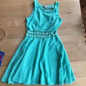 Blue/Green turquoise dress